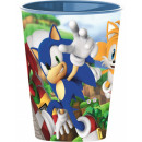 Sonic , the hedgehog cup, plastic 260 ml