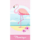 Flamingo, Flamingo bath towel, beach towel