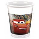Disney Cars , Verdák Plastic cup 8 pcs 200 ml