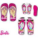 Großhandel Fashion & Accessoires: Kinderhausschuhe,  Flip-Flop Barbie 27-34
