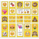 wholesale Gifts & Stationery:3D sticker set Emoji