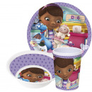 Kitchenware, melamine set for Disney Doc McStuffin