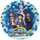 Playmobil Paper Plate 8-piece 23 cm