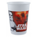 wholesale Party Items: Star Wars Dark Side Plastic cup 8 pcs 200 ml