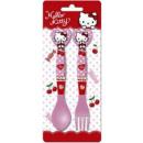 Cutlery Set - 2-piece Hello Kitty