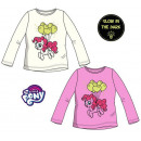 My little pony kid in the dark lit shirt