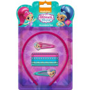 Shimmer and Shine  hair, hairgrip, hairband set