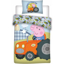 Peppa pig Children's bedding cover 100 × 135cm