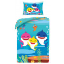 Baby Shark children's bedding cover 100x135 cm