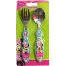 Cutlery Set - 2-piece Disney Minnie