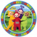groothandel Stationery & Gifts: Teletubbies Paper Plate 8-delig 18 cm