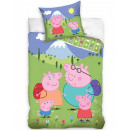 Peppa pig bed linen 140 × 200cm, 70 × 90 cm