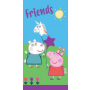 wholesale Towels: Peppa pig bath towel, beach towel 70 * 140cm