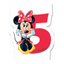 Disney Minnie cake candle, number candle
