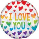 Happy Valentine's Day Foil Balloons 45 cm