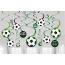 Football Goal, Soccer Ribbon Decoration 12pcs
