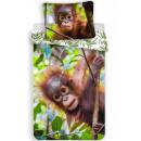 Pościel orangutan 140×200cm, 70×90 cm