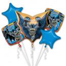 Batman Foil Balloons 5 Piece Set