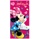 DisneyMinnie bath towels, beach towels 70 * 140