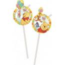 Disney Winnie the Pooh straw, 6 pcs set