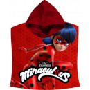 Miraculous Ladybug Poncho Handtuch 60 * 120cm