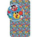 lenzuola ad angolo Disney Mickey 90 x 200 cm