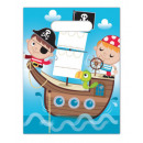 Pirates Treasure Hunt, Pirate Gift Bag with 6 piec