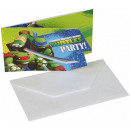 Ninja Turtles , Tini Nindzsa Nettle Party Invitati