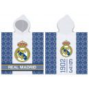 Real Madrid towel poncho 60 * 120cm