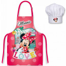 DisneyMinnie Children's apron 2-piece set