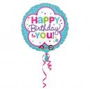 Happy Birthday Folienballon 43 cm