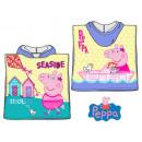 Großhandel Handtücher: Peppa Pig Strandtuch Poncho 50 * 100cm