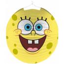 Großhandel Geschenkartikel & Papeterie: Spongebob , SpongeBob Lampion 25 cm