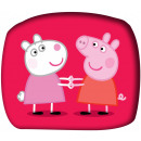 Peppa pig form pillow, cushion
