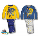 Kinder langen Schlafanzug Playmobil 98-128cm