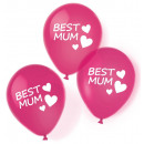 Best Mom Ever, Best Mother Balloon, 6 Balloons
