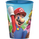 Super Mario glass, plastic 260 ml