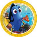 Disney Nemo i Dory Paper Plate 8 sztuk 19,5 cm