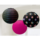 wholesale Gifts & Stationery: Lampion Disco Fever 24cm 3-Piece Set
