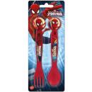 Cutlery set - 2 pieces Spiderman, Spiderman