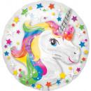 Palloncini Foil Unicorno, Unicorno 60 cm