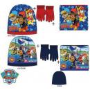 Niños bufandas, guantes de la redecilla + + sombre
