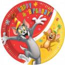 ingrosso Articoli da Regalo & Cartoleria: Tom and Jerry  carta Tavola 8 pezzi 23 cm