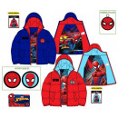 Kids lined coat Spiderman , Spiderman 3-8 years