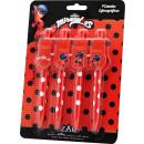 Jeu de stylos 4pcs Miracle Ladybug