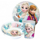Kitchenware, melamine set Disney frozen , Ice Magi