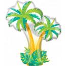 Palmier, ballons en feuille de palmier 86 cm