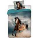 wholesale Bedlinen & Mattresses: Rider, The Horses  Bedsheet Cover 140 × 200cm, 70 ×