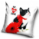 Kitty, The Cat pillowcase 40 * 40 cm