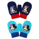DisneyMickey rękawiczki dziecięce z mitenkami
